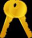 Clés, porte-clés, badge magnétique